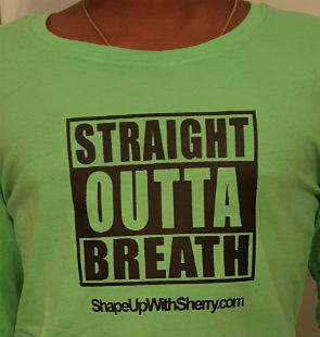 Straigh Outta Breath T-Shirt